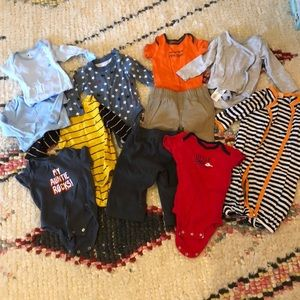Baby clothes lot